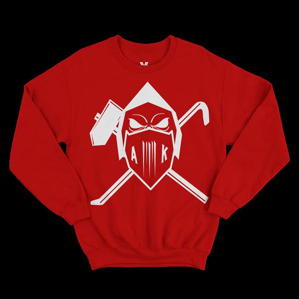 AK AusserKontrolle - Sweatshirt - rot