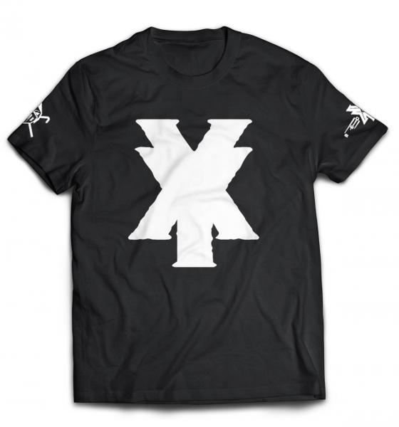 XY Records - T-Shirt - schwarz