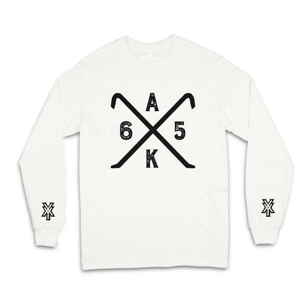 AK AusserKontrolle - Longsleeve - weiß